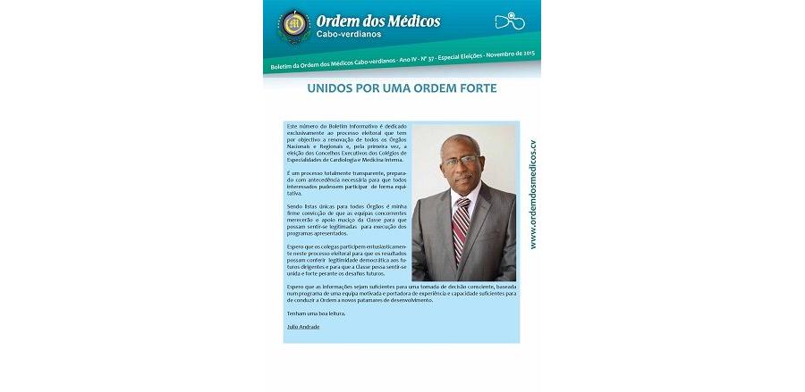 Boletim Nº 37 Novembro de 2015 - Especial Eleições